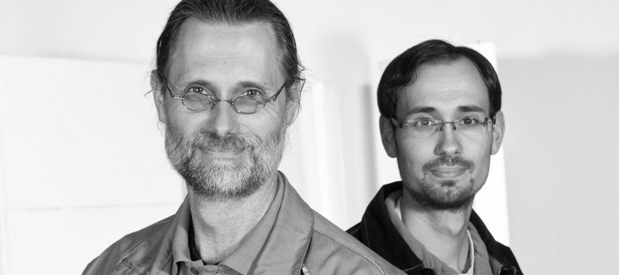Rüdiger und Marc Spira